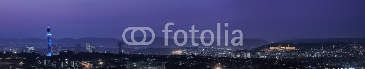 10480931 – South Africa – Panoramic view of Pretoria in South Africa. HDR type image