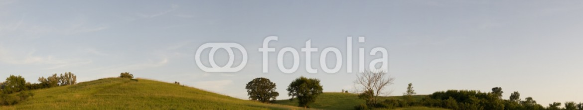 15924416 – United States of America – Panorama of Iowa Country Side at Dusk
