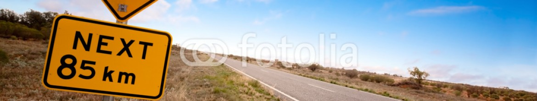 16158561 – Australia – Outback Kangaroo Sign