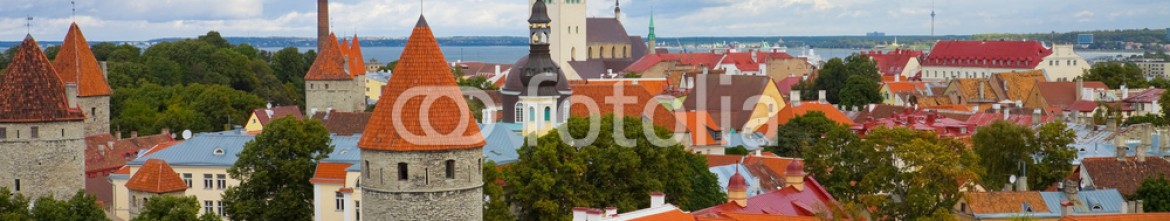 18529181 – Estonia – Panorama of Tallinn, Estonia