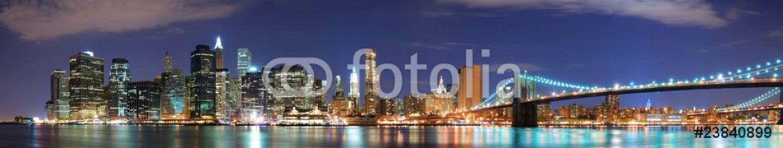 23840899 – United States of America – New York City Manhattan skyline panorama