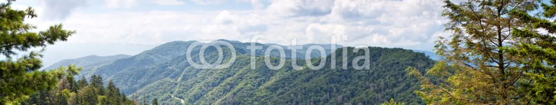 24763147 – Ukraine – Mountain valley at sunny day