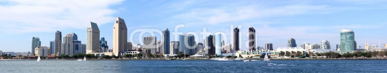 25005696 – United States of America – San Diego Skyline Downtown Panorama