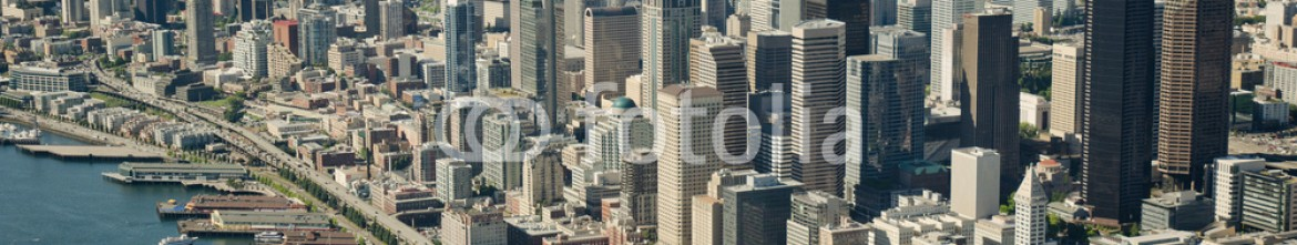 36571466 – United States of America – Seattle and Space Needle – Aerial
