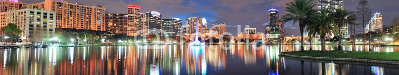 39648095 – United States of America – Orlando night panorama