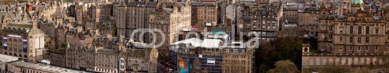 41369521 – Thailand – Panorama of Edinburgh Skylines building