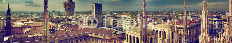 45973261 – Italy – Milan, Italy. City panorama. View on Royal Palace