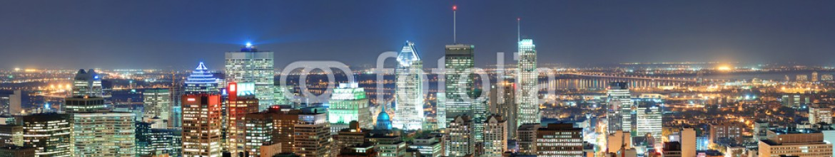 53462982 – United States of America – Montreal at dusk panorama