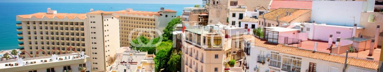 53573643 – Spain – Torremolinos Panoramic View, Costa del Sol. Malaga, Spain