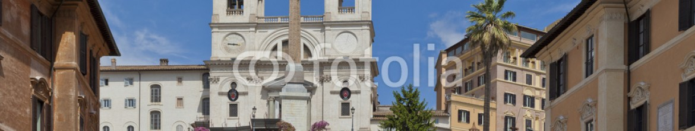 41270347 – Italy – Roma, piazza d Spagna, veduta