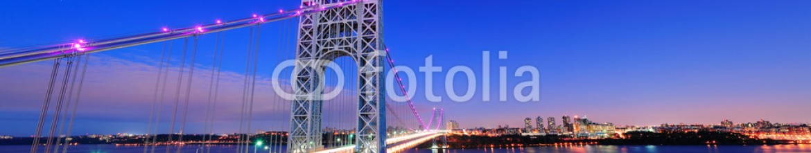 42446967 – United States of America – George Washington Bridge panorama