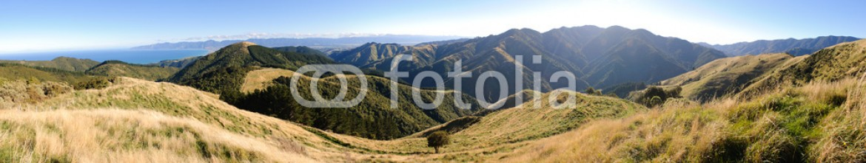 42718153 – United States of America – Panorama of the Wairarapa coastline