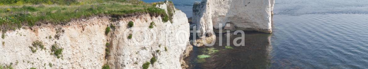 44824679 – United Kingdom of Great Britain and Northern Ireland – Old Harry Rocks Panorama