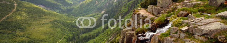 48621322 – Slovakia – Pancavsky waterfall in Krkonose mountain – Czech republic