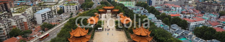 49931710 – China – wuhan city panorama