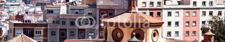 51471907 – Spain – Panoramic View of Barcelona, Spain.