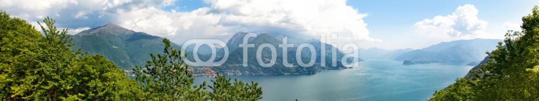 53807662 – Russian Federation – Beautiful Como lake panorama