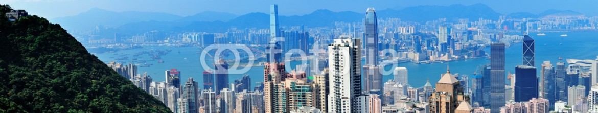 53899601 – United States of America – Hong Kong mountain top view