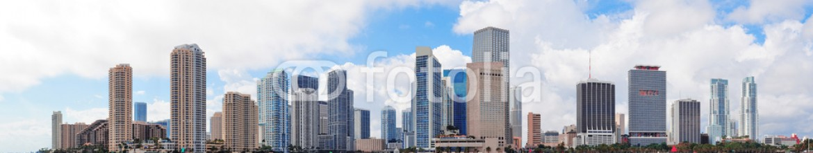53899798 – United States of America – Miami skyline