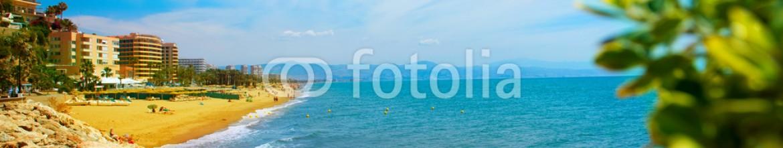 53964437 – Spain – Torremolinos Panoramic View, Costa del Sol. Malaga, Spain