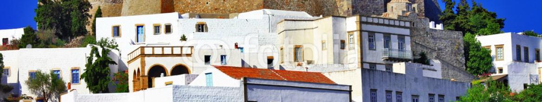 55298624 – Ukraine – Unesco heritage site – Patmos island, Greece