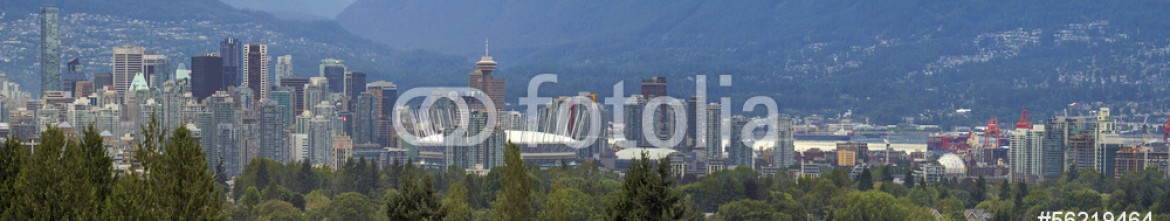 56219464 – United States of America – Vancouver BC City Day Panorama