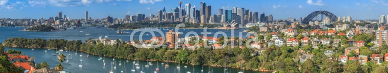 56954577 – Australia – Sydney Harbour  panorama from Mosman