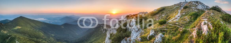 57080089 – Slovakia – sunset landscape