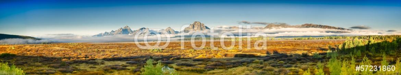 57231860 – United States of America – Teton Panorama