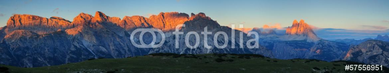 57556951 – Italy – Cima Nove Croda dei Baranci Croda dei Rondoi Monte Rudo Monte Pi