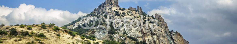 57793995 – Russian Federation – Crimea, extinct volcano Kara-Dag mountain reserve, Ukraine