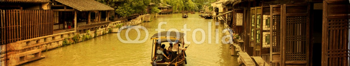 58300741 – Italy – Ancient water town of Wuzhen, China