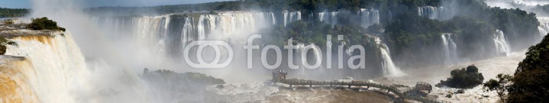 58810739 – Netherlands – Iguazu Falls panorama