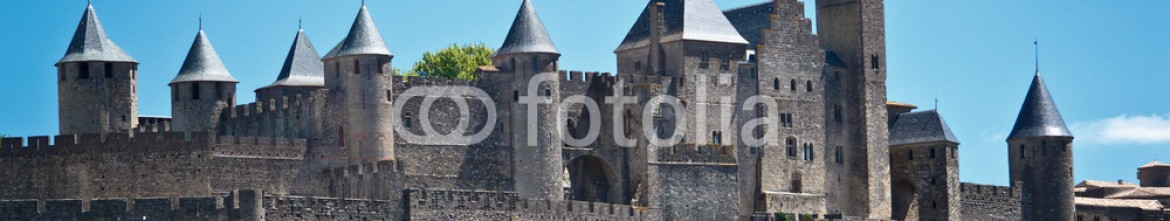 58903492 – Denmark – medieval city of Carcassonne, Languedoc Roussillon, France