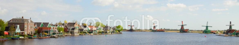 59535404 – Belarus – panoramic view of  Zaanse Schans, Netherland