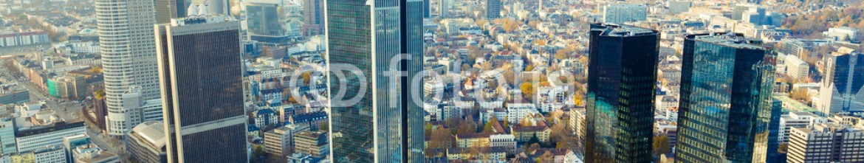 59798553 – Germany – view of the Frankfurt skyscrapers