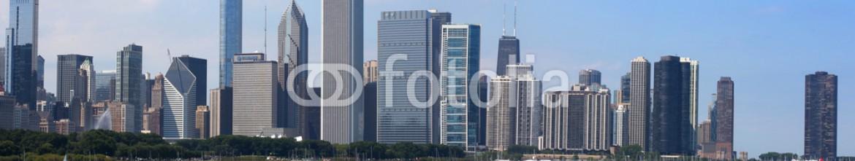 59839701 – United States of America – Chicago skyline