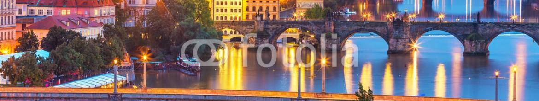 60778441 – Czech Republic – Evening scenery of Prague, Czech Republic