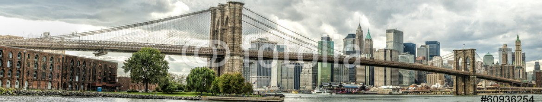60936254 – Brazil – The Brooklyn Bridge in New York city, USA