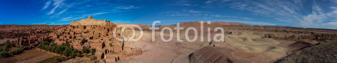 61657411 – Morocco – Panorama of Ait Ben Haddou in Morocco