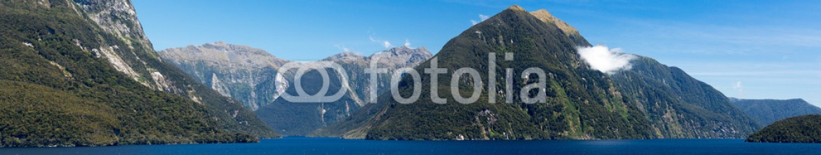 62281755 – New Zealand – Fjord of Doubtful Sound in New Zealand