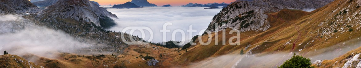 62633071 – Italy – Beautiful summer landscape in the mountains. Sunrise – Italy Dol