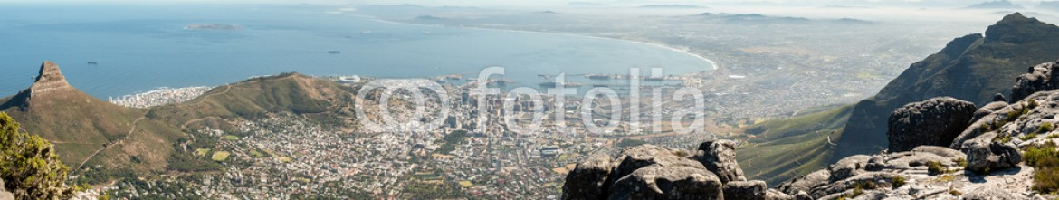 62678557 – Italy – Cape Town panoramic view, Table Mountain, South Africa