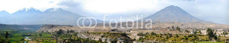 63600837 – Peru – Arequipa, Peru with Misti Volcano