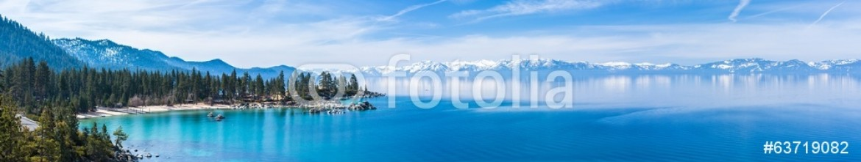 63719082 – United States of America – Lake Tahoe panorama