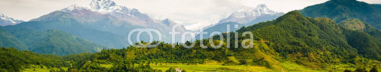 63897232 – Nepal – Annapura Panorama, from near Pokhara
