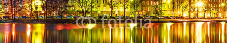 64184649 – Finland – Evening scenery of Helsinki, Finland