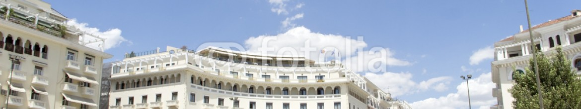 64288284 – Serbia – Famous  Aristotelous square in Thessaloniki, Greece – may 2013.