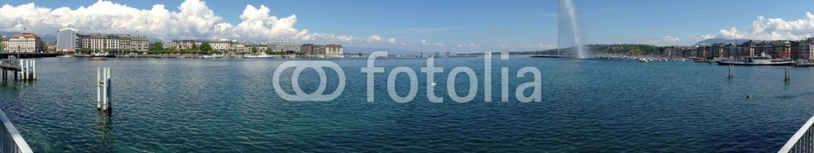 64353830 – Thailand – panorama view of Geneva lake