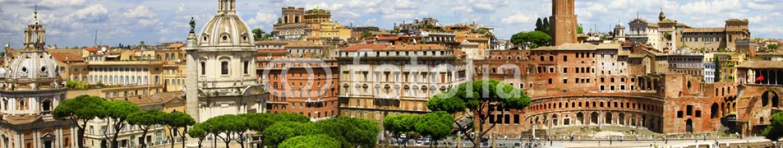 66162635 – Ukraine – antique Rome -Trajan's Market panorama